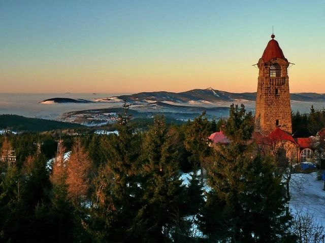Rozhledna Černá Studnice | Chalupa Amálka výlety po Jizerských horách