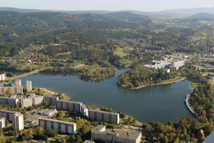 Jablonecká přehrada | Vodní nádrž Mšeno | Ubytování chalupa Amálka Jizerské hory