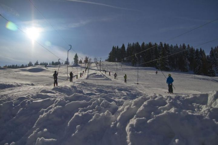 Ski areál Severák nedaleko ubytování Chalupa Amálka