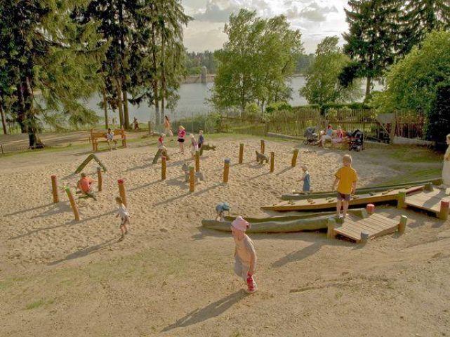 Koupání přehrada Mšeno Jablonec nad Nisou | Dětské hřiště Jablonec nad Nisou