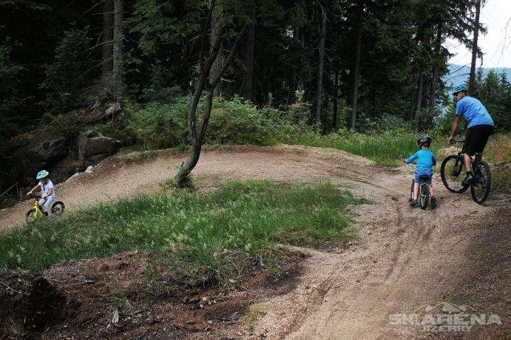 Bikepark Tanvaldský Špičák | Singltrek Tanvaldský Špičák | Chalupa Amálka ubytování Jizerské hory