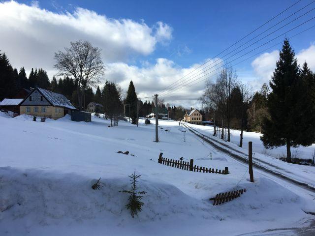První březnová předzvěst jara | Chalupa Amálka - pronájem chalupy v Jizerských horách