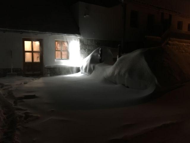 Sněhové přívaly | Pronájem chalupy Jizerské hory