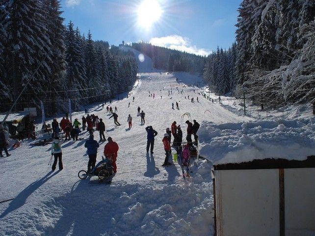 Ski areál Tanvaldský Špičák | Kam na lyže v Jizerských horách | Chalupa Amálka pronájem chalupy Jizerské hory