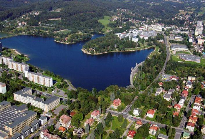 Koupání přehrada Mšeno Jablonec nad Nisou | Přírodní koupání Jizerské hory