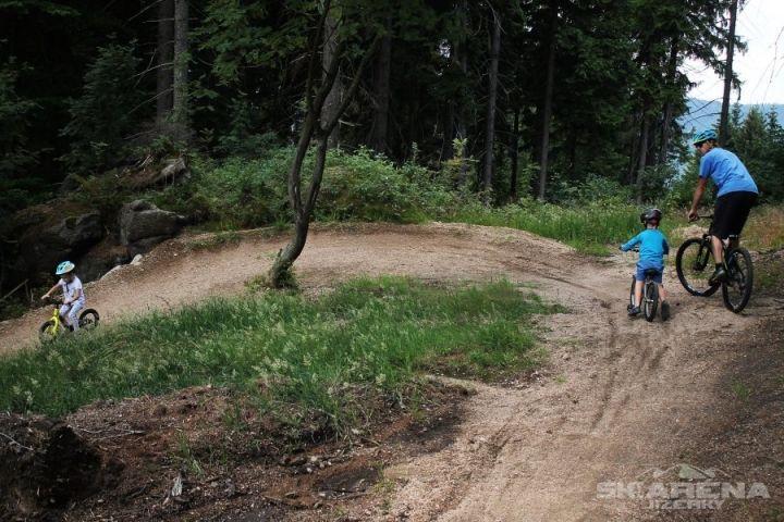 Bikepark Tanvaldský Špičák   Singltrek Tanvaldský Špičák   Chalupa Amálka ubytování Jizerské hory