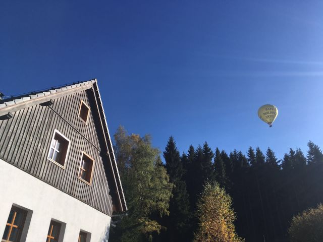 Lety balónem Jizerské hory | Dovolená Jizerské hory | Chalupa Amálka
